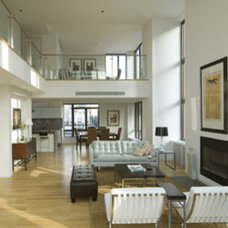 Contemporary Living Room by Chelsea Atelier Architect, PC