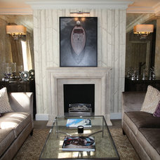 Traditional Living Room by Olivia Cazenove Interiors