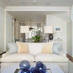 Oceanfront Condominium Traditional Living Room Miami