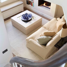 Transitional Living Room by Thorp Design
