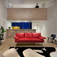 Contemporary Living Room by Sieg Design And Construction Associates Inc.