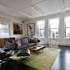 Contemporary Living Room by StudioLAB, LLC