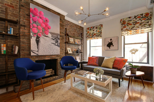 Contemporary Living Room by Facet 14 Studio