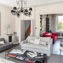 Houzz Tour: Neon Brights Mix With Classic Style in a London Home