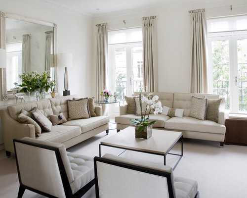 ideas for living room lighting. inspiration for a classic formal living room in london with white walls and carpet ideas lighting