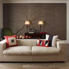 Contemporary Living Room by Fromental