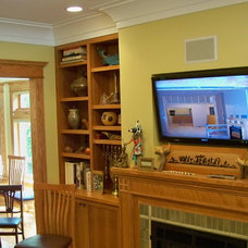 Traditional Living Room by Building Vision - Evanston, IL