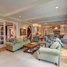 Traditional Living Room by HotShotPros.com Photography