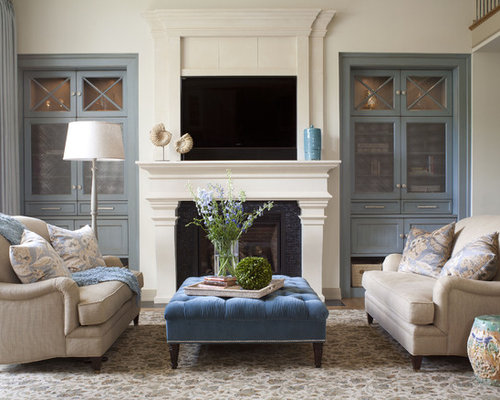 Living Room Denver : Built In Cabinets Around Fireplace Home Design Ideas ...
