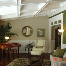 Traditional Living Room by Cheryl Shinabarger
