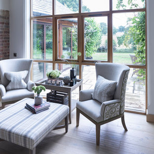 Photo of a country living room in Cheshire.