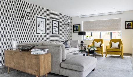 Geometric Wallpaper: 10 Spaces That Say Look At Me