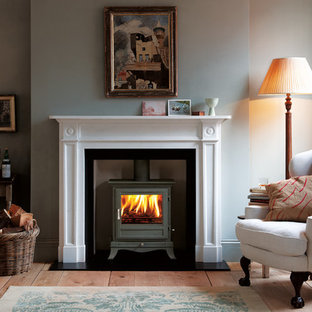 Chesney's Langley Fireplace with Beaumont Stove