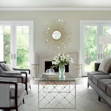 Traditional Living Room by K Taylor Design Group