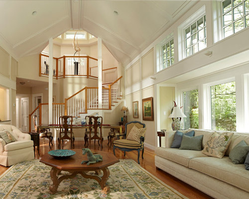 SaveEmail - 3,871 Cathedral Ceiling Living Room Design Ideas & Remodel