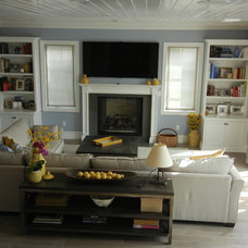 Traditional Living Room by Hope Morris Designs