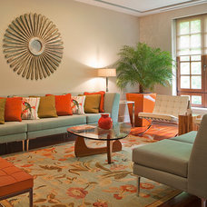 Contemporary Living Room by Suzanne Price Design, LLC