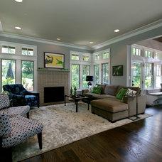 Contemporary Living Room by Heather ODonovan Interior Design