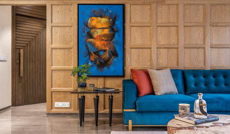 Mumbai Houzz: A Contemporary Home With Vignette-Inspired Decor