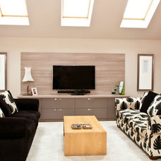 Contemporary Living Room by Yasmin Chopin Interior Design