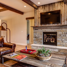 Rustic Living Room by Legacy DCS