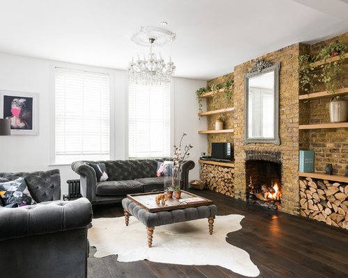Living Room Feature Wall Ideas and Photos Houzz