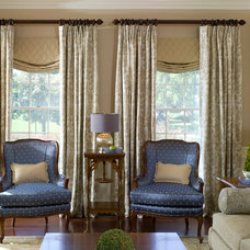 Traditional Living Room by Interiors by Donna Hoffman