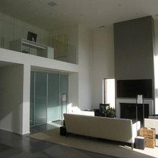 Modern Living Room by Marc Janecki Design