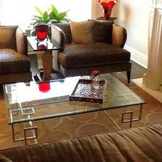 Modern Living Room by Holzman Interiors, Inc.