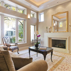 Traditional Living Room by Signature Staging