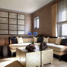 Contemporary Living Room by Anthony Michael Interior Design, Ltd.