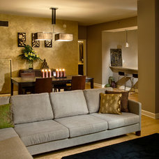 Asian Living Room by Hilary Bailes Design