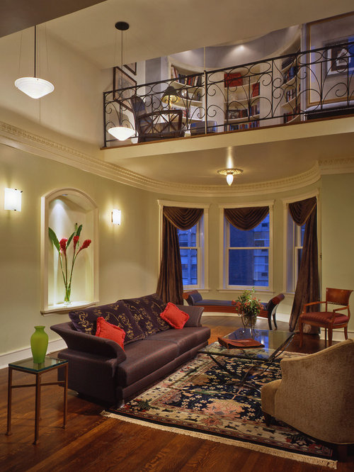 Mezzanine Living Room Design Ideas Renovations Photos