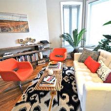 Living Room by Valerie McCaskill Dickman