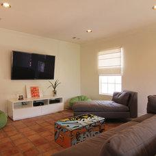 Modern Living Room by cky design, inc.