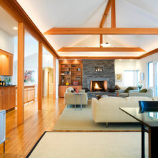 Contemporary Living Room by Breese Architects