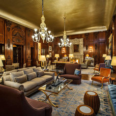 Eclectic Living Room by Dennis Mayer, Photographer