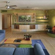 Contemporary Living Room by Chimera Interior Design