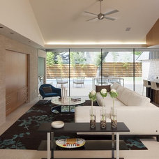 Contemporary Living Room by Webber + Studio, Architects