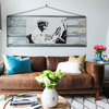 Design Recommendation: A Classic Brown Leather Sofa