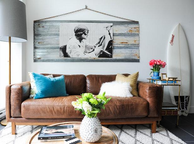 Eklektische Wohnzimmer von Oliver Simon Design