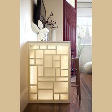 Asian Living Room by Susan Diana Harris Interior Design