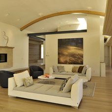 Contemporary Living Room by levitt architects