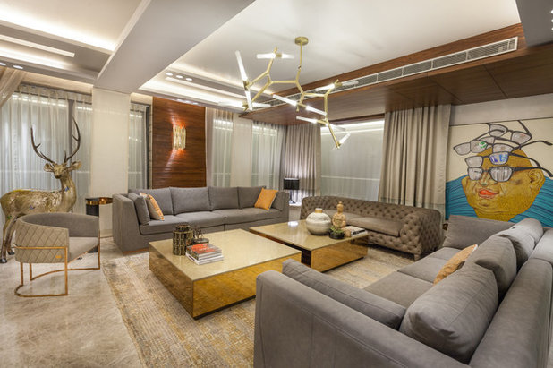 Contemporary Living Room by Essentia Environments