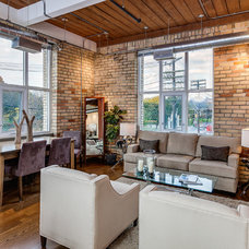Industrial Living Room by The Graces - ReMax Hallmark Realty