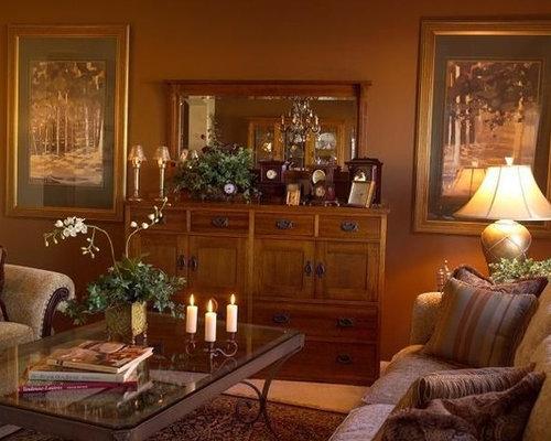 chocolate living room. Inspiration for a timeless living room remodel in Los Angeles Chocolate Living Room  Houzz