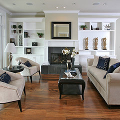 traditional living room by Christian Rice Architects, Inc.