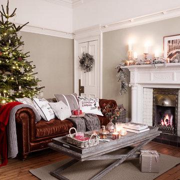 Christmas 14 - Chic Living Room