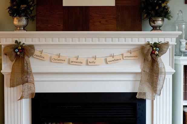 Rustic Living Room by Stephanie Woody