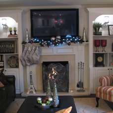 Traditional Living Room by The Expert Touch Interiors